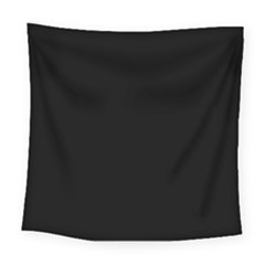 Simply Black Square Tapestry (large)