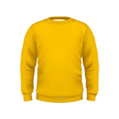 Amber Solid Color  Kids  Sweatshirt
