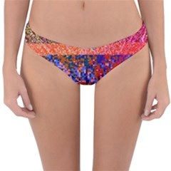 Glitchdrips Shadow Color Fire Reversible Hipster Bikini Bottoms
