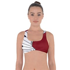 Piano Keys Music Got No Strings Sports Bra