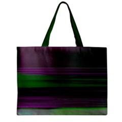 Screen Random Images Shadow Zipper Mini Tote Bag