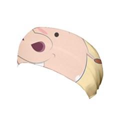 Happy Cartoon Baby Hippo Yoga Headband