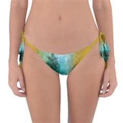 Turquoise River Reversible Bikini Bottom