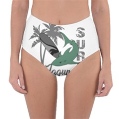 Surf   Laguna Reversible High Waist Bikini Bottoms