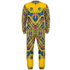 Happy Fantasy Earth Mandala Onepiece Jumpsuit (men)