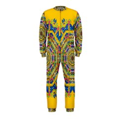 Happy Fantasy Earth Mandala Onepiece Jumpsuit (kids)