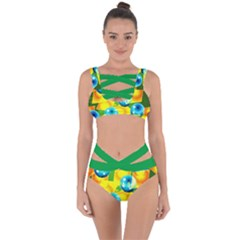 Colors Of Brazil Bandaged Up Bikini Set