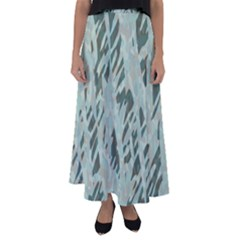 Forest Impressions Camo Flared Maxi Skirt