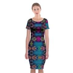 Garden Classic Short Sleeve Midi Dress