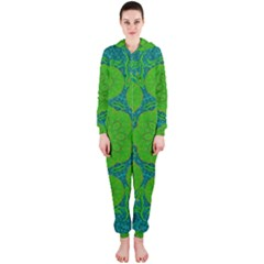 Summer And Festive Touch Of Peace And Fantasy Hooded Jumpsuit (ladies)