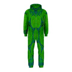 Summer And Festive Touch Of Peace And Fantasy Hooded Jumpsuit (kids)
