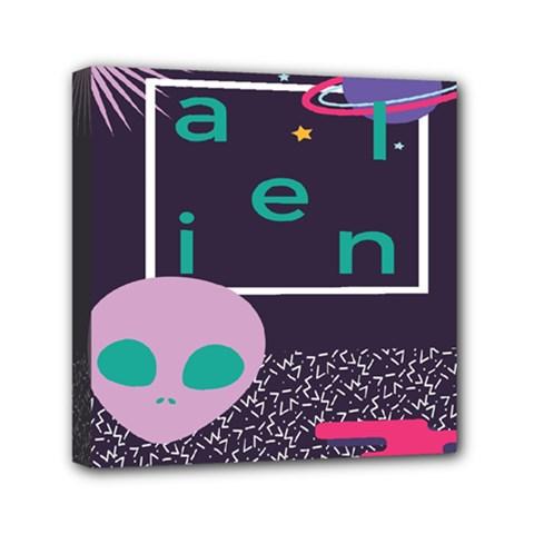 Behance Feelings Beauty Space Alien Star Galaxy Mini Canvas 6  X 6