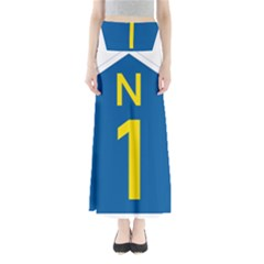 South Africa National Route N1 Marker Maxi Skirts
