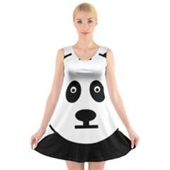 3904865 14248320 Jailpanda Orig V-Neck Sleeveless Skater Dress