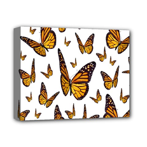 Butterfly Spoonflower Deluxe Canvas 14  x 11