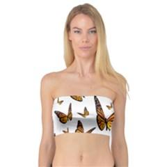 Butterfly Spoonflower Bandeau Top