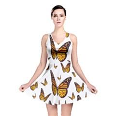 Butterfly Spoonflower Reversible Skater Dress