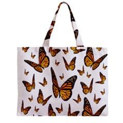 Butterfly Spoonflower Zipper Mini Tote Bag