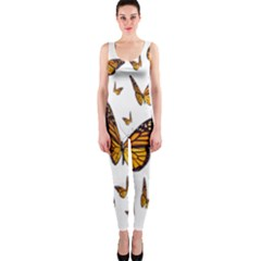 Butterfly Spoonflower OnePiece Catsuit