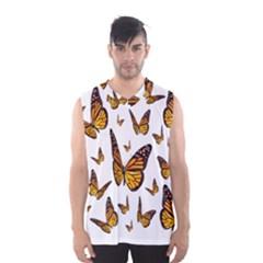 Butterfly Spoonflower Men s Basketball Tank Top