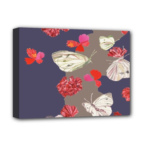 Original Butterfly Carnation Deluxe Canvas 16  x 12
