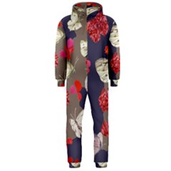 Original Butterfly Carnation Hooded Jumpsuit (Men)