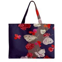 Original Butterfly Carnation Medium Tote Bag