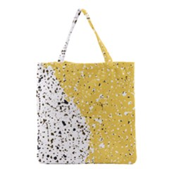 Spot Polka Dots Orange Black Grocery Tote Bag