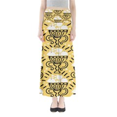 Trophy Beers Glass Drink Full Length Maxi Skirt