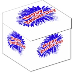 Happy Bastille Day Graphic Logo Storage Stool 12