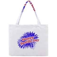 Happy Bastille Day Graphic Logo Mini Tote Bag
