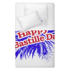 Happy Bastille Day Graphic Logo Duvet Cover Double Side (Single Size)