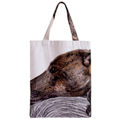 Greyhound Zipper Classic Tote Bag