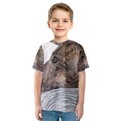 Greyhound Kids  Sport Mesh Tee