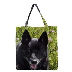 Norwegian Buhund Grocery Tote Bag