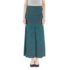 Stars Of Golden Metal Full Length Maxi Skirt