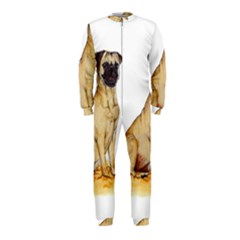 Pug Color Drawing OnePiece Jumpsuit (Kids)