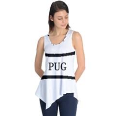 Pug Dog Bone Sleeveless Tunic