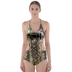 Water Tower 1 Cut-Out One Piece Swimsuit