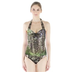 Water Tower 1 Halter Swimsuit