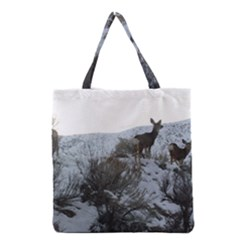 White Tail Deer 1 Grocery Tote Bag