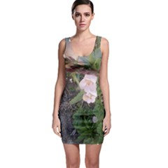 Wildflowers On The Boise River Sleeveless Bodycon Dress