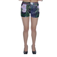 Wildflowers On The Boise River Skinny Shorts