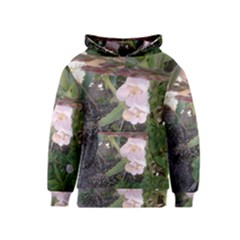 Wildflowers On The Boise River Kids  Pullover Hoodie