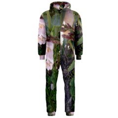 Wildflowers On The Boise River Hooded Jumpsuit (Men)