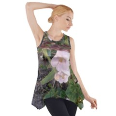 Wildflowers On The Boise River Side Drop Tank Tunic