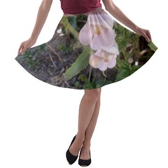 Wildflowers On The Boise River A-line Skater Skirt