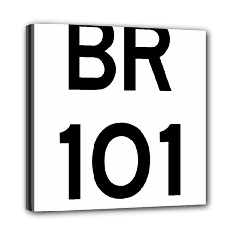 Brazil BR-101 Transcoastal Highway  Mini Canvas 8  x 8