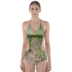 Wildflowers Cut-Out One Piece Swimsuit