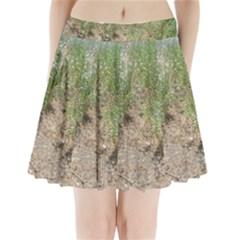 Wildflowers Pleated Mini Skirt